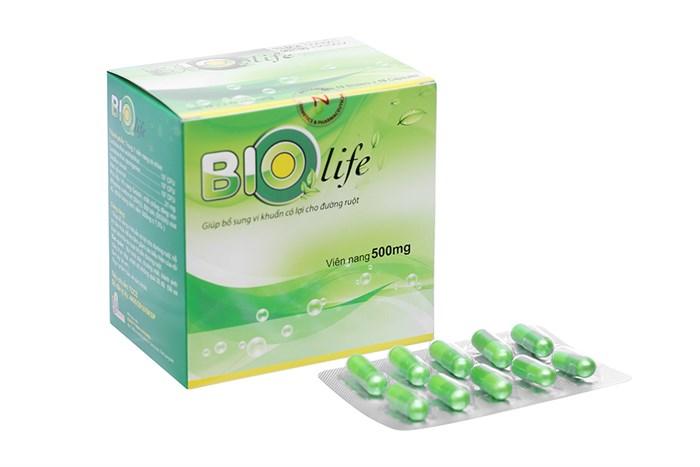 Men vi sinh bổ sung lợi khuẩn Bio Life hộp 100 viên