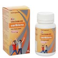 Viên nhai bổ sung canxi cho bé Kids Calcium+D3 Corbiere hộp 30 viên