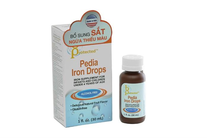 Siro bổ sung sắt cho bé Pedia Iron Drops 30ml