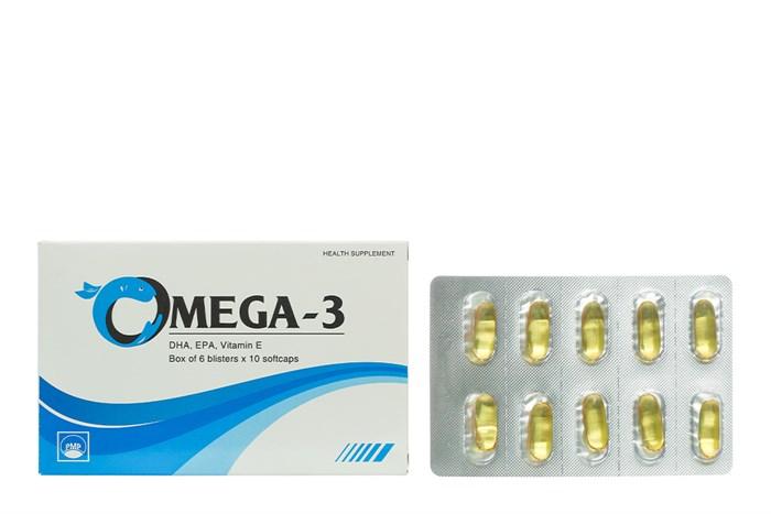Viên uống Omega 3 Pymepharco hộp 60 viên