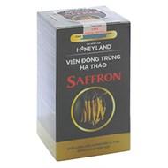 Viên đông trùng hạ thảo Saffron Honey Land hộp 60 viên
