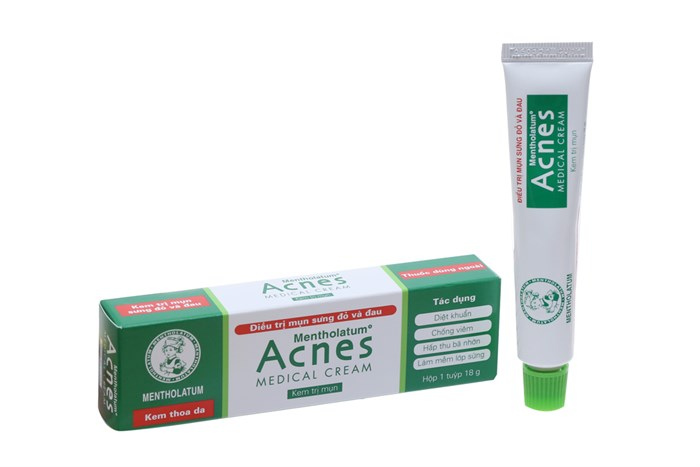 Kem trị mụn Acnes Medical Cream 18g