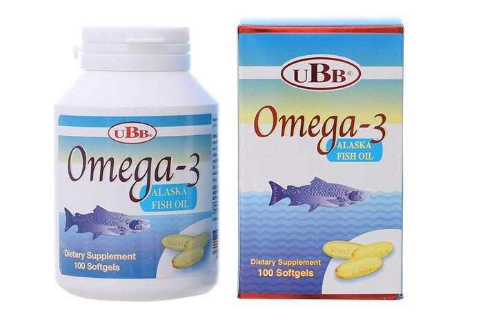 Viên uống Omega 3 UBB 100 viên