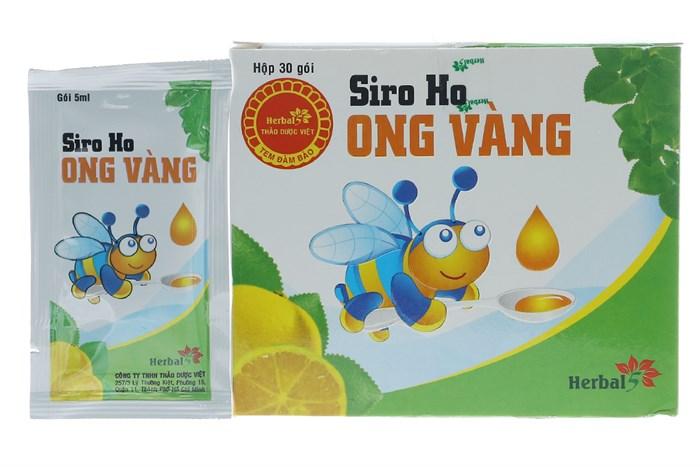 Siro ho Ong vàng 30 gói