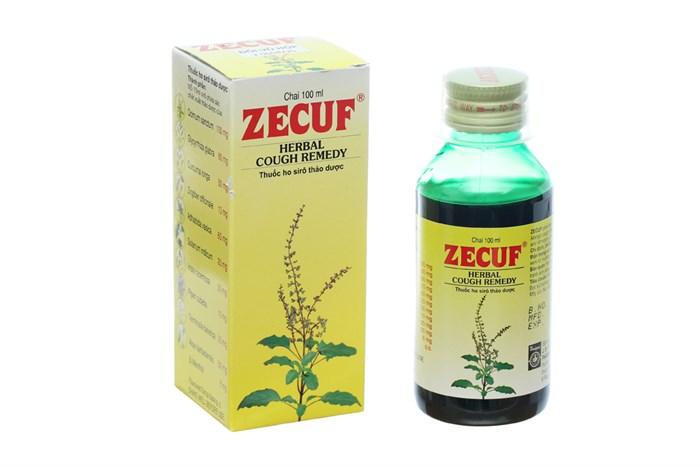 Siro ho thảo dược Zecuf 100ml