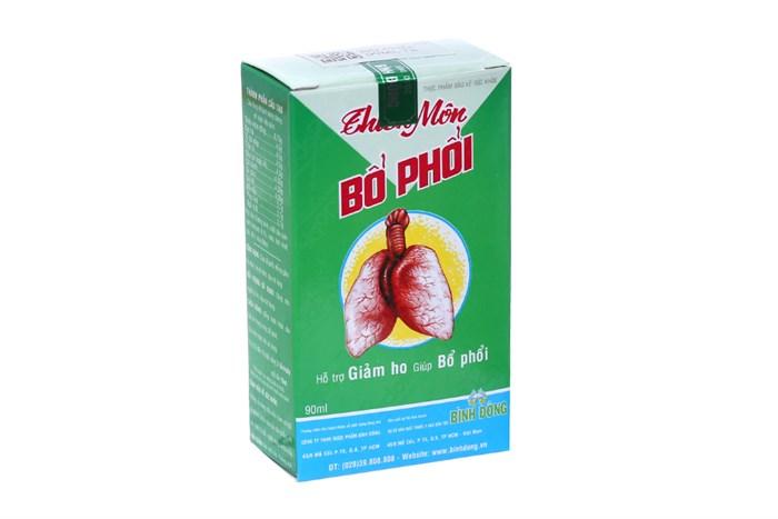 Dung dịch uống Thiên Môn Bổ Phổi 90ml
