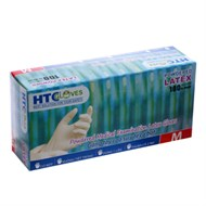 Găng tay cao su y tế có bột...