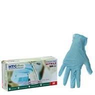Găng tay không bột xanh...