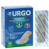 Băng cá nhân trong Urgo Waterproof 50 miếng