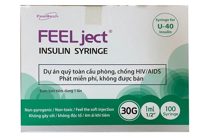 Kim tiêm insulin 1ml U40