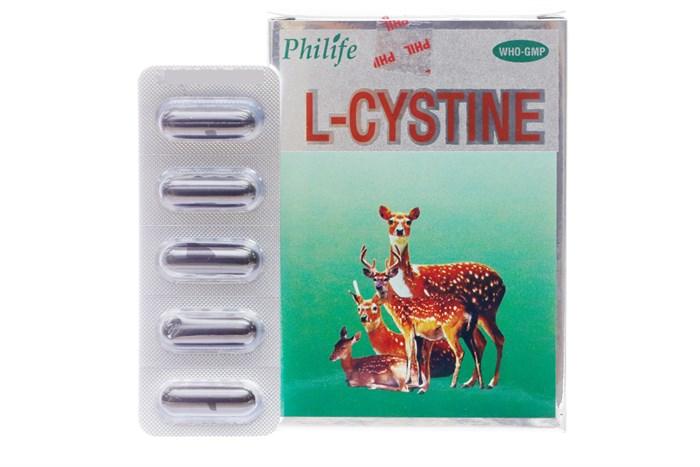 Viên uống đẹp da, tóc, móng L-Cystine Philife hộp 60 viên