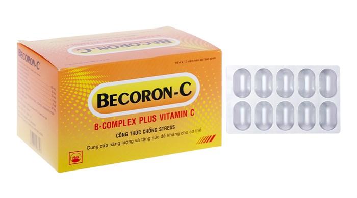 Thuốc Becoron C hộp 100 viên