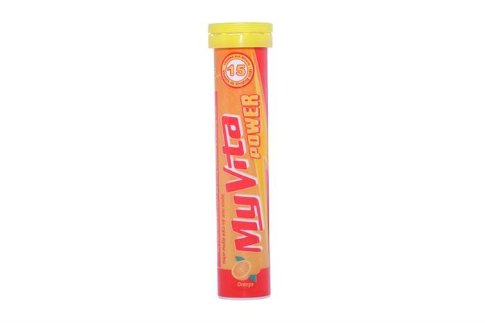 Viên sủi vitamin C Myvita Power tuýp 20 viên
