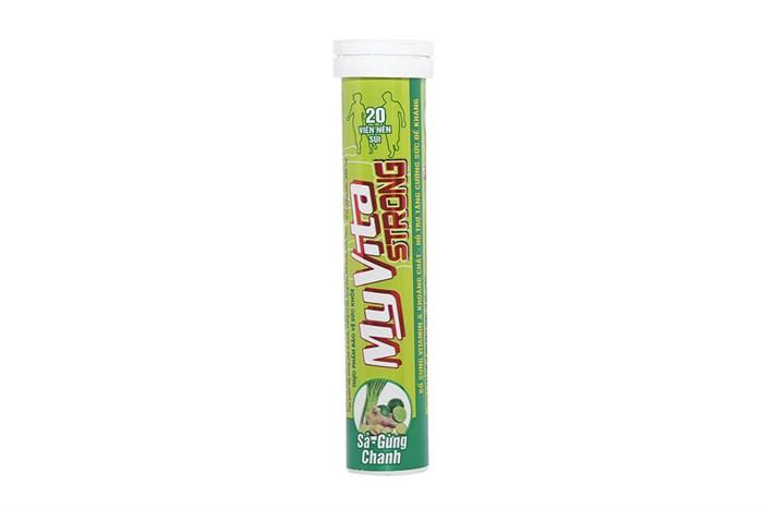 Viên sủi MyVita Strong tuýp 20 viên