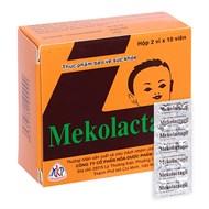 Viên uống lợi sữa Mekolactagil hộp 20 viên