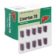 Thuốc Liverton 70mg hộp 100...