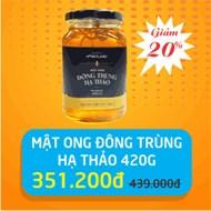 Mật ong Đông trùng hạ thảo HoneyLand lọ 420g