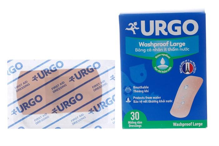 Băng cá nhân không thấm nước Urgo Washproof Large