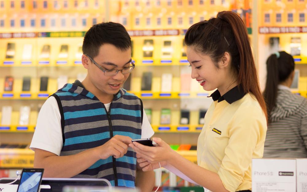Apple упала до 4-о места во Вьетнаме